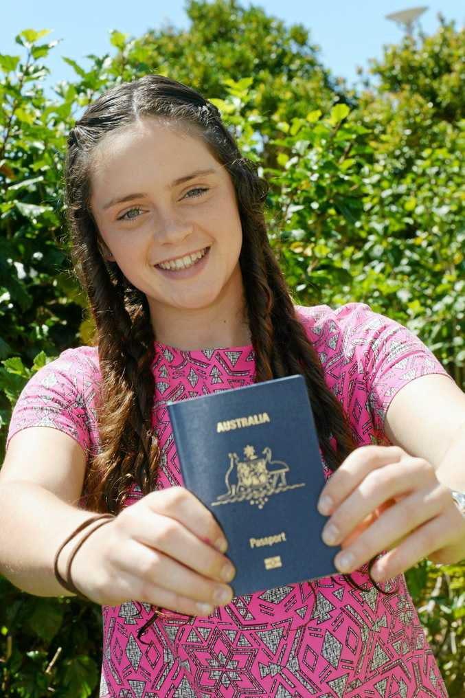 Niamh Sullivan is excited by the prospect of heading overseas to help others.
