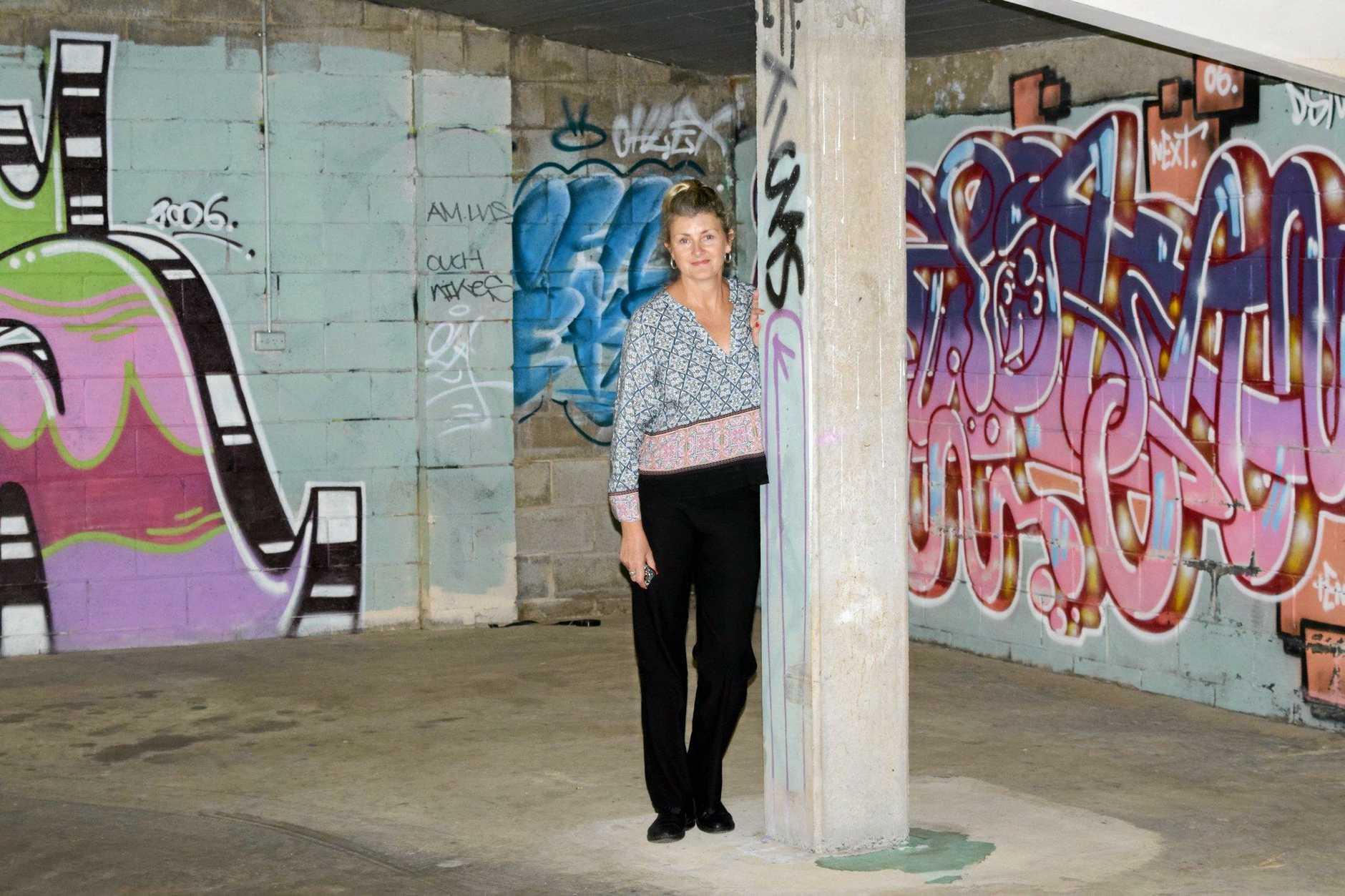 Geraldine O'Flynn wants to preserve the art.