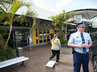 A COFFS Harbour man has been arrested in relation to a bank hold-up at Park Beach this morning.