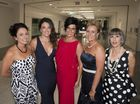 Blue Ball guests enjoy martinis shaken not stirred