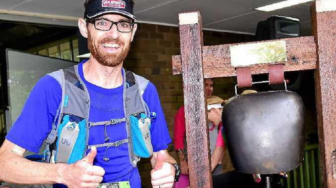 Blackall 100 winner Troy Lethlean finished the tough race in a record time of 10 hours and 16 minutes