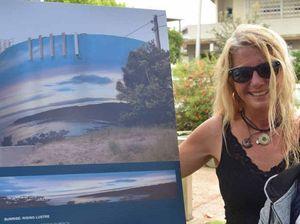 Picture the Peregian water reservoir as fine artwork