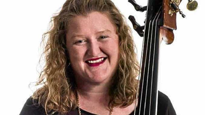 MUSICAL TALENT: Former Toowoomba woman Emma Sullivan is the principal double bass with the Melbourne Chamber Orchestra.