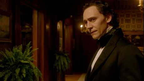 Tom Hiddleston in a scene from the movie Crimson Peak.