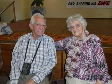 GOING STRONG: Nev and Joyce Killip celebrate their 65th wedding anniversary.