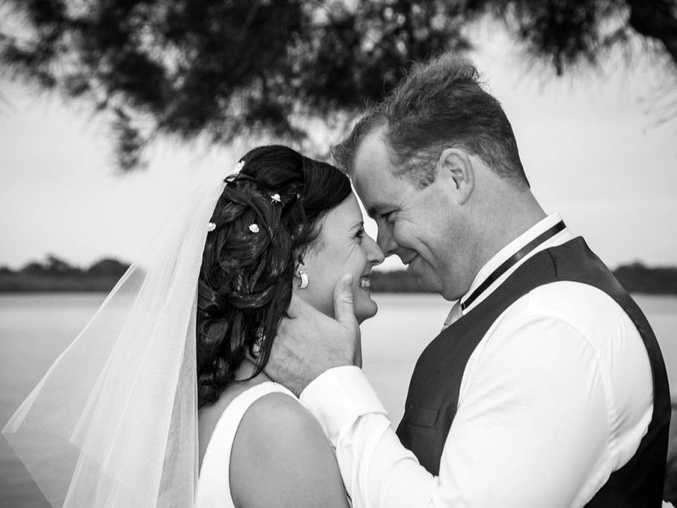 SCOTT McIntyre wed the love of his life Meaghin Vogelsang at Chambers Island on June 7 this year. The happy couple was surrounded by loving family and close friends. The group partied later at the reception at Maroochy RSL.