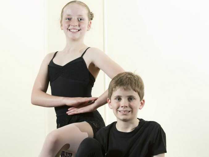 Garden City Dance students Oriel and Jonty Copeland