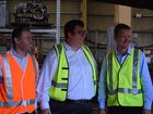 Josh Frydenberg visits the central coast on first tour