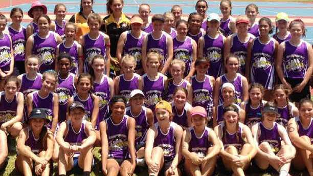 YOUNG TALENT TIME: About 70 junior netballers attended the Rockhampton Leagues Club Capricorn Claws 12 and 13 Years Talent Camp in Emerald this month.