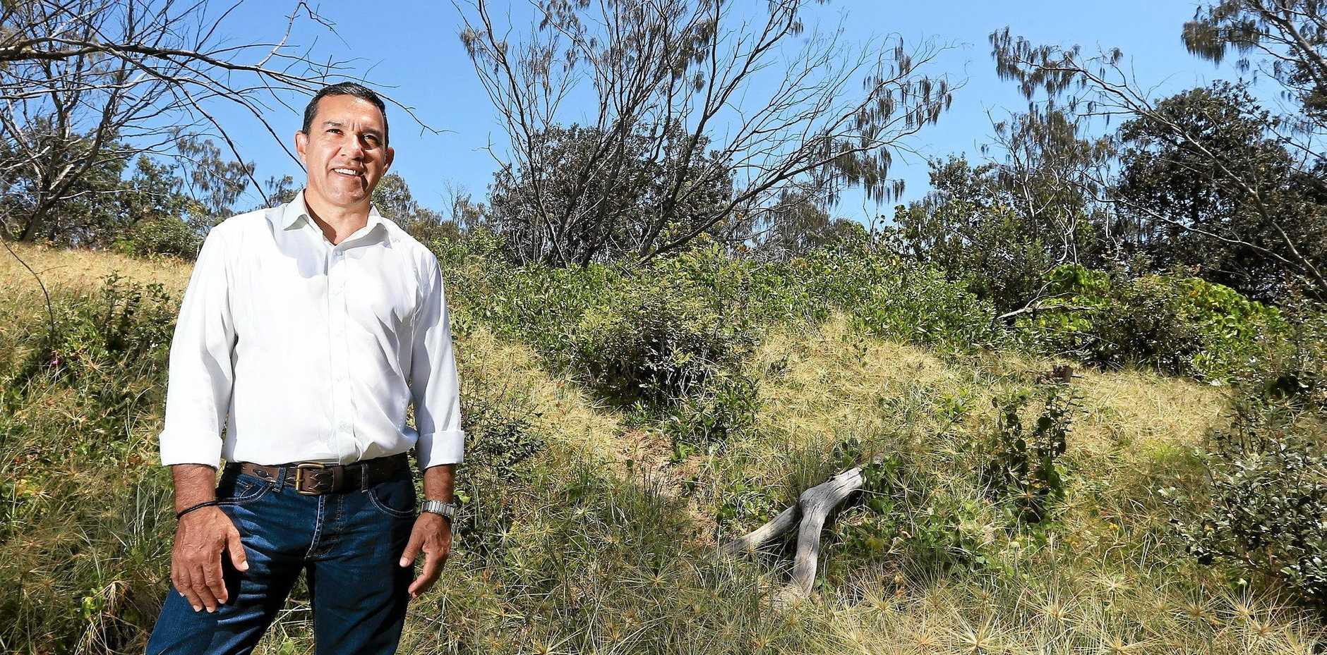 Aboriginal Land Council candidate for the Tweed and greater South Queensland Robert Monaghan will fight for the indigenous community to have their land claim for Lot 490 resolved if he is elected in Saturday's poll.