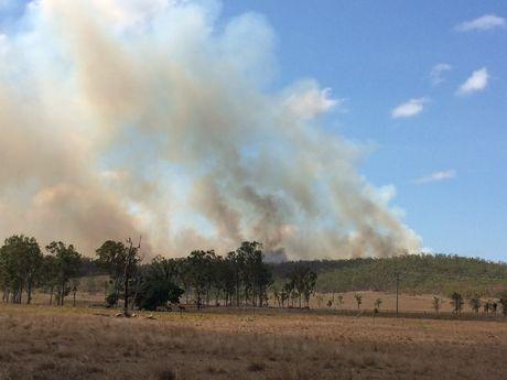 Mount Chalmers bushfire