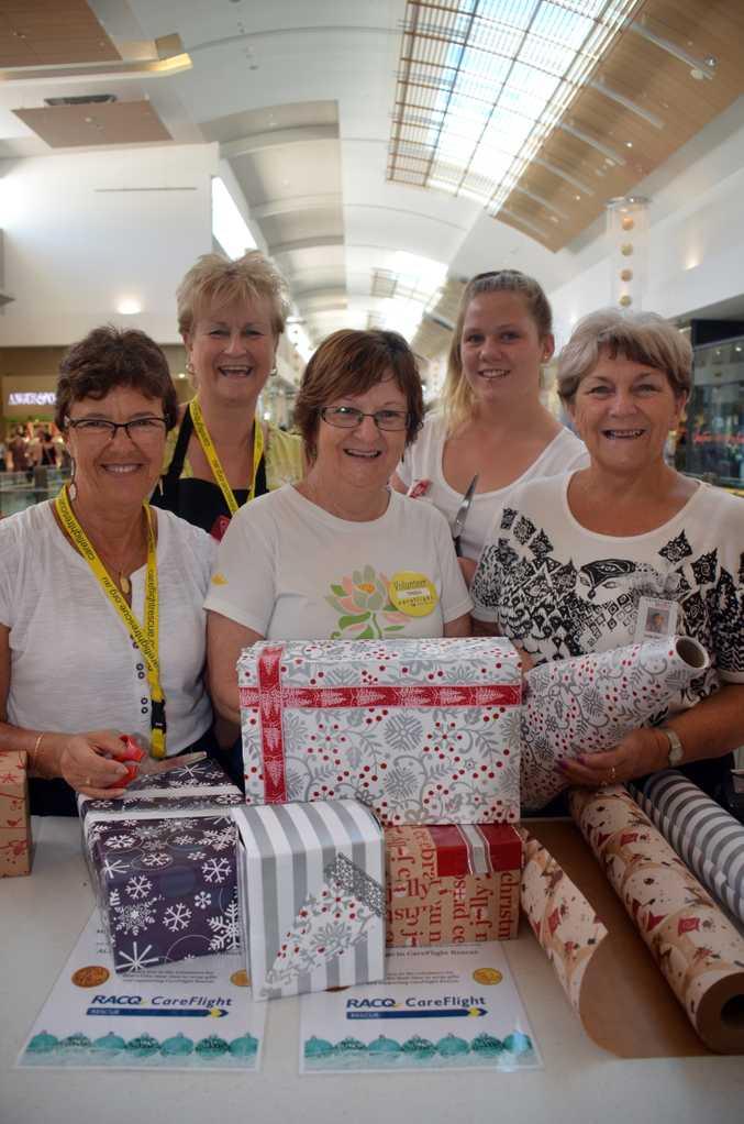 CareFlight's Christmas Wrap is looking for dedicated volunteers.