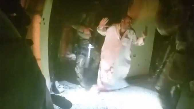 A video shows the release of prisoners held captive by Isis.