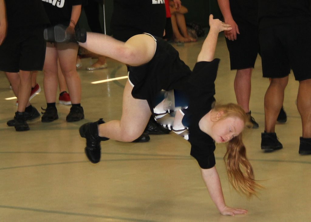 Madeline Stuart is the face of Inside Outside Dance Ensemble who plan to open a dance studio for young people with disabilities in Ipswich. Photo Contributed