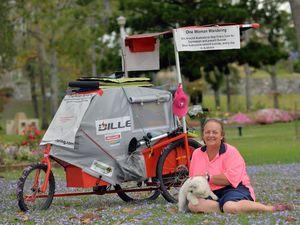 Tracey Humphreys around Australia.