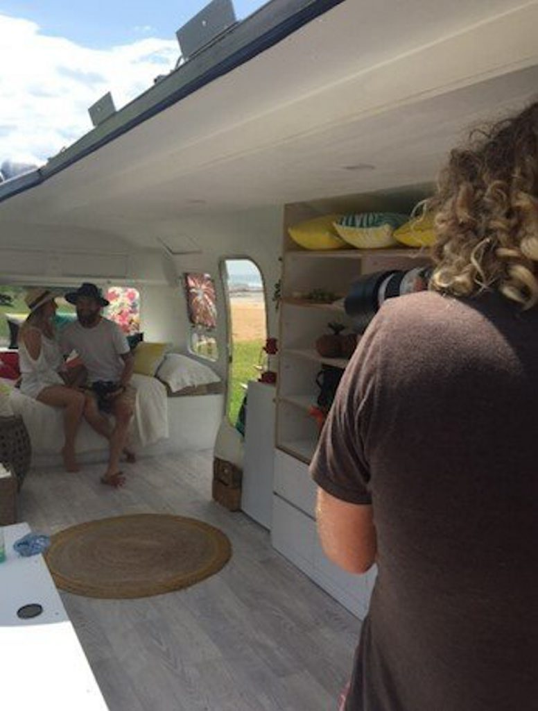 The very first Havaianas Airstream, named #HavaianasOnTour. Photo Contributed