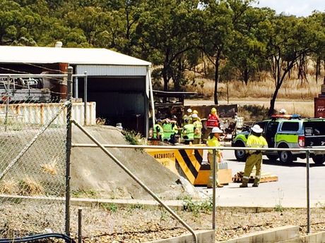 Veolia Environmental Services has been evacuated after a concrete kiln exploded. Photo Campbell Gellie / The Observer