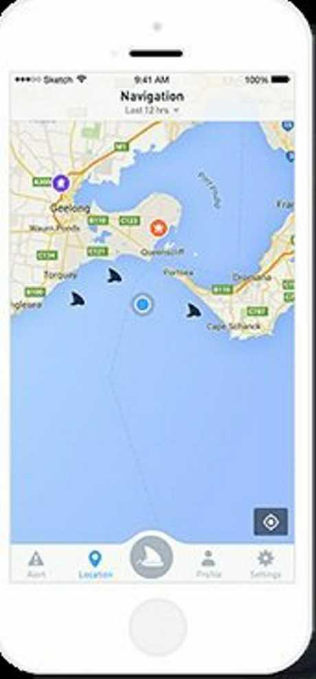 DORSAL APP: The way to crowd-source information about shark sightings at local beaches.