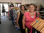 FASHION STORE: Shop assistant Kahla Dunrobin with Janine Northcott who has opened her dream shop after a horrific car accident two years ago. Photo: Mike Knott / NewsMail