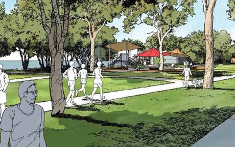 An artists impression of the Esplanade