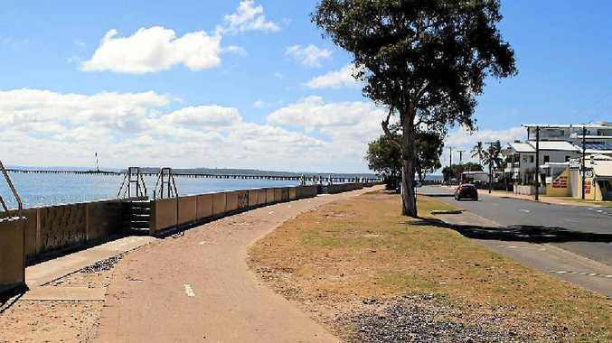 Esplanade near the Urangan Pier.