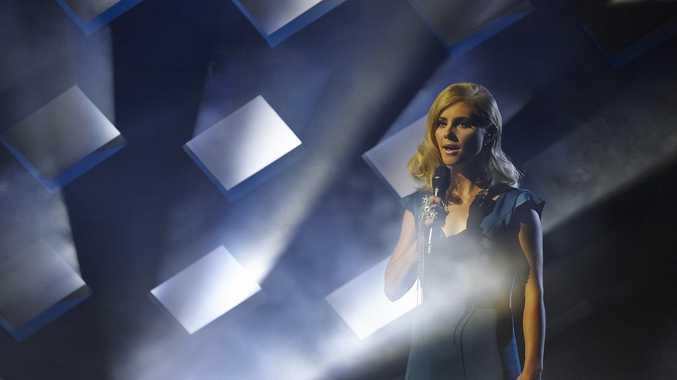 X Factor contestant Michaela Baranov says goodbye.