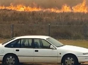 Students video shows bushfires