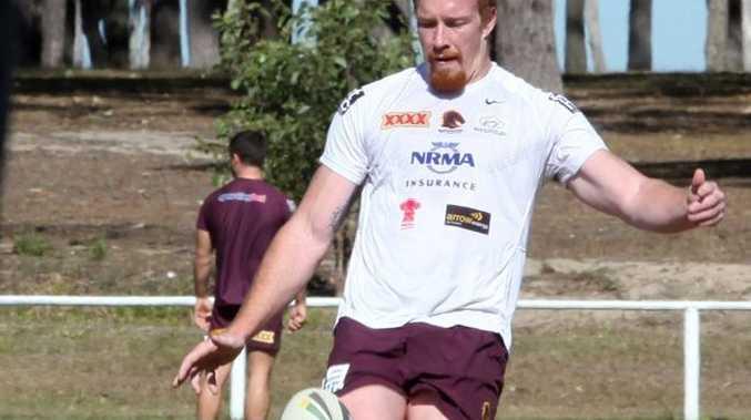 Brisbane Broncos Jack Reed training at Logan Brothers.
