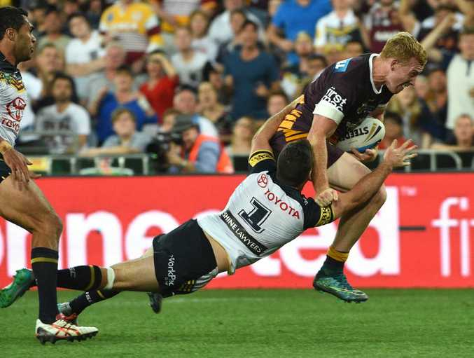 Action from this year's NRL Grand Final.