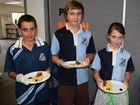 Warwick East students put on their chef hats for family