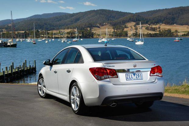 Holden Cruze SRi-V. Photo: Contributed.