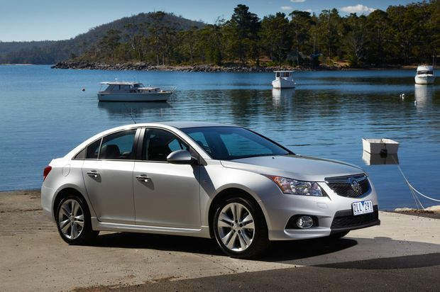 PLEASURE CRUZE: Good kit, nice style and reasonable performance blend with practicality in Holden's enduring Cruze SRi model. *Note, Cruze SRi-V model shown in photos.