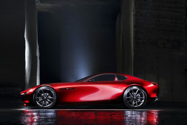 Mazda RX-Vision Concept revealed at the 2015 Tokyo Motor Show. Photo: Contributed