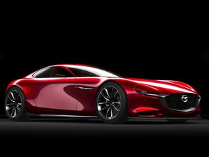 Mazda's rotary powered RX-Vision revealed