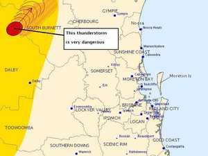 Thunderstorm warning issued for South Burnett