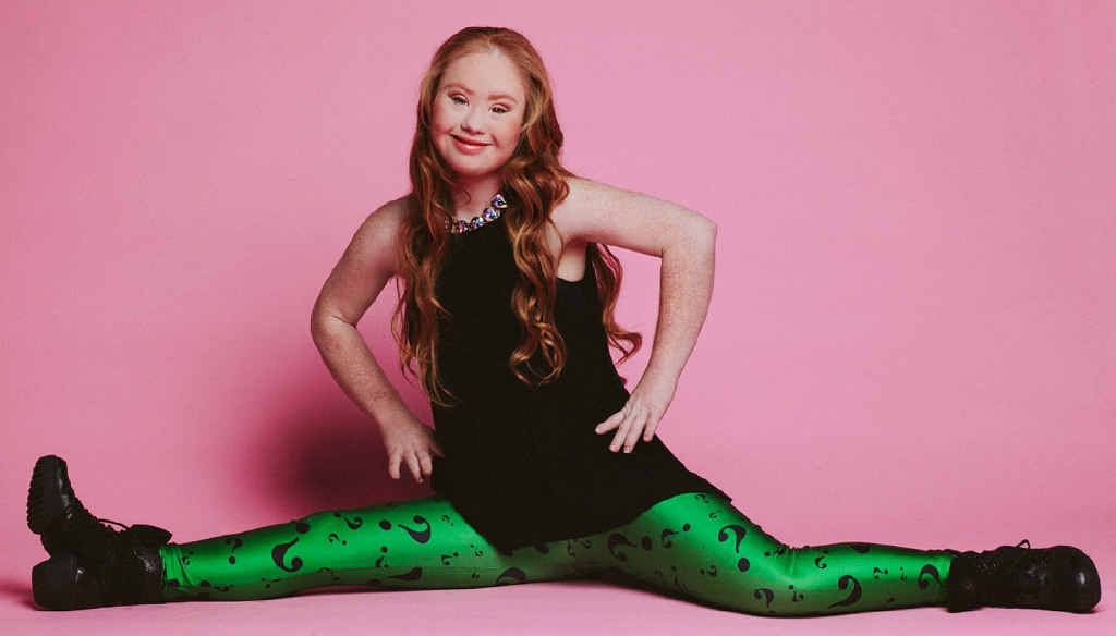 NEXT CHALLENGE: Madeline Stuart is an ambassador for InsideOutside Dance Ensemble.