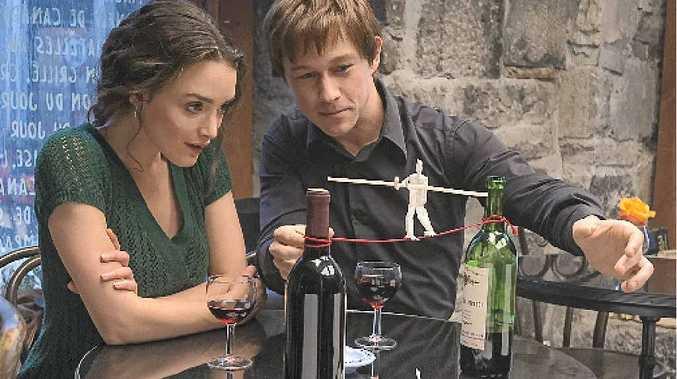 Charlotte Le Bon and Joseph Gordon-Levitt in a scene from the movie The Walk.