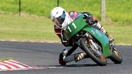 Kyogle racer Justin Hall won his second Australian title at Phillip Island in the 300 Production division.