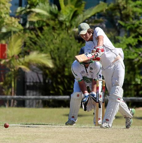 Cudgen batsman Alec Williams scored 101 not out against Pottsville in the second round of the FNC LJ Hooker competition.