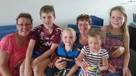 Ronda's grandchildren love how active she is.