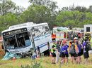 THEY walked away with their lives, but a seatbelt campaigner says the Gladstone schoolchildren involved in a bus smash this week should prompt changes to laws.