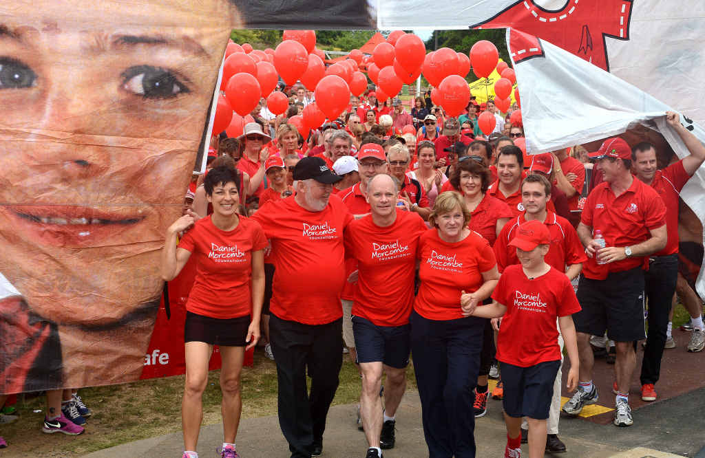 More than a thousand supporters were decked out in red at the annual event