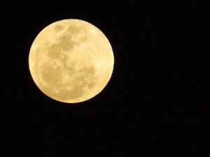 READERS PHOTOS: Supermoon in Central Queensland skies