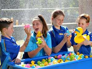 The Great Gympie Duck Race