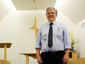 Newly retired chaplain loved his daily role touching lives