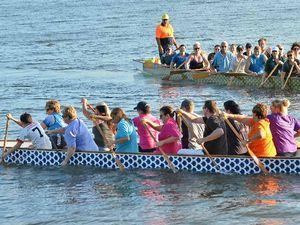 Record entries for Dragon Boats Jacaranda Regatta