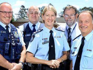 Super cop fostering proud Ipswich crime prevention team