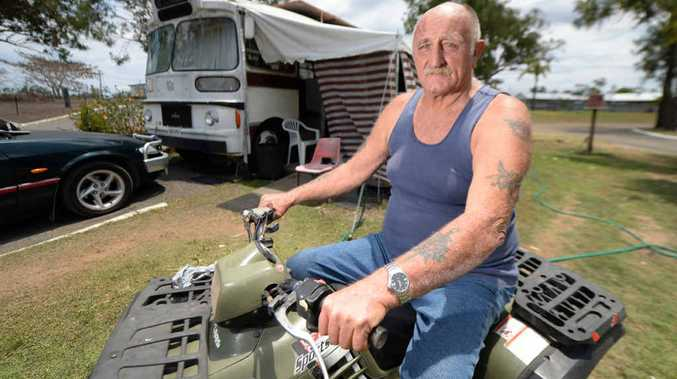 GOOD RESULT: Michael Armitage is happy to have his quad bike back after it was stolen.