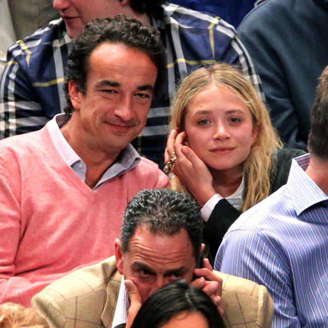 Mary-Kate Olsen with fiance Olivier Sarkozy