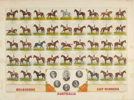 Melbourne Cup winners from 1861 - 1902
